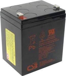 Аккумулятор CSB HR-1221W-F2  (12V, 5.25Ah) для UPS