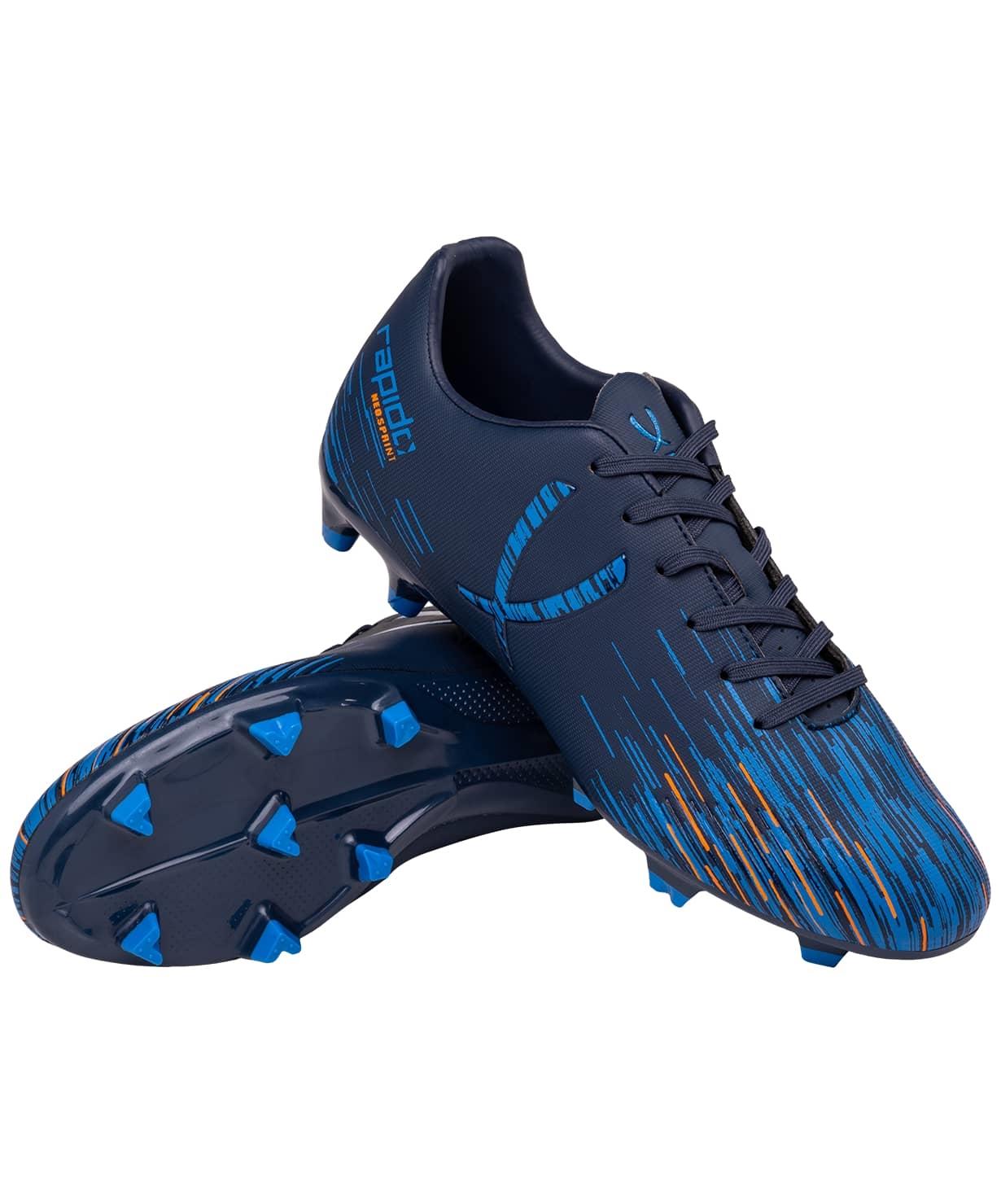 Бутсы футбольные Rapido JSH401-Y, синий, р. 34-38