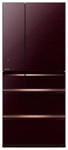 Холодильник Mitsubishi MR-WXR743C-BR-R коричневый