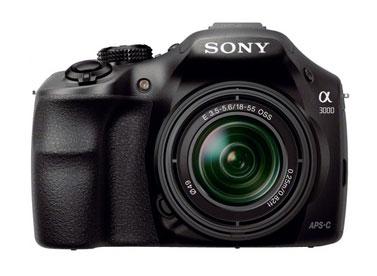 """Зеркальный Фотоаппарат Sony Alpha ILCE-A3000K KIT черный 20.1Mp 18-55 3"""" 1080 SDHC NP-FW50, требуется замена акб"""