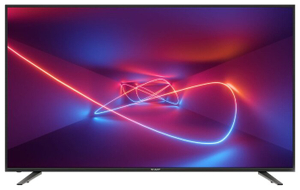 "Телевизор Sharp 70"" LC70UI7652E черный 4K UHD SMART TV"