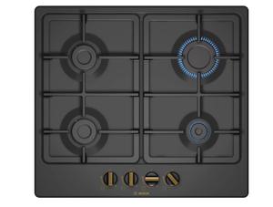 Газовая варочная панель Bosch PGP6B3B90R черный