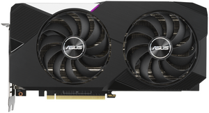 Видеокарта Asus GeForce RTX 3070 [DUAL-RTX3070-O8G-V2] LHR 8 Гб
