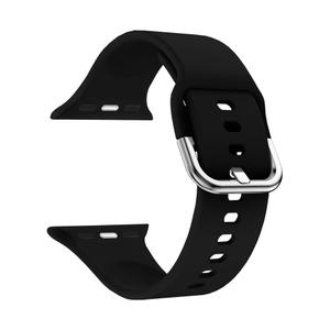 Силиконовый ремешок для Apple Watch 42/44 mm LYAMBDA AVIOR DSJ-17-44-BK Black