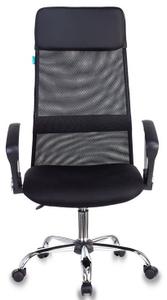 Кресло для руководителя Бюрократ KB-6N черный