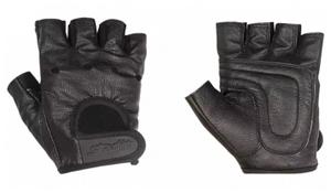 Перчатки для фитнеса STARFIT SU-115, черный (S)