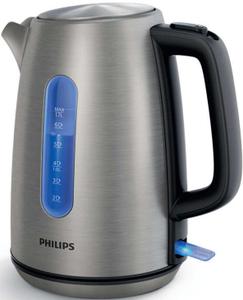 Чайник электрический Philips HD9357/10 серебристый