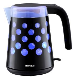 Чайник электрический Hyundai HYK-G2012 черный