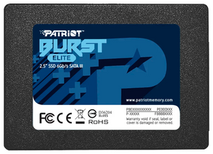 Накопитель SSD Patriot Burst Elite [PBE120GS25SSDR] 120 ГБ
