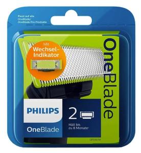 Бритвенный блок Philips OneBlade QP220 (2 сменных лезвия)