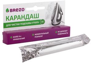 Карандаш для чистки подошвы утюга, 25 г., 1 шт., бренд: BREZO, арт. 97025