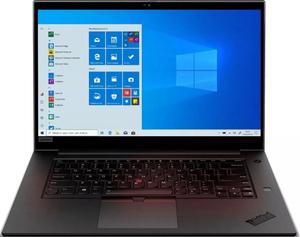 Ноутбук Lenovo ThinkPad P1 3rd Gen (20TH001QRT) черный