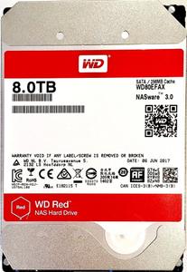 Жесткий диск Western Digital [WD80EFAX] Red 8 Тб