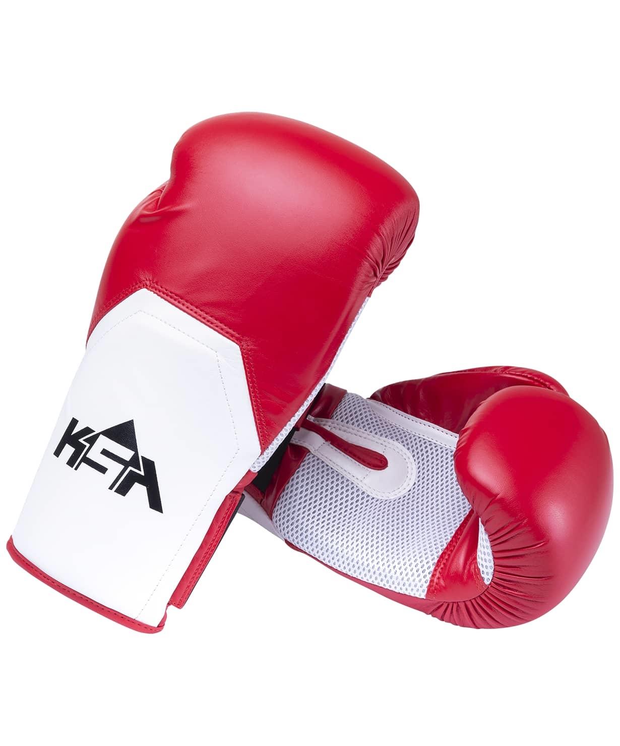 Перчатки боксерские Scorpio Red, к/з,  6 oz