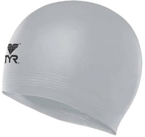 Шапочка для плавания Latex Swim Cap, латекс, LCL/040, серебристый