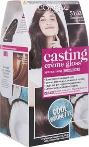 Краска-уход для волос Casting Creme Gloss 5102 Холодный мокко L'Oreal Paris