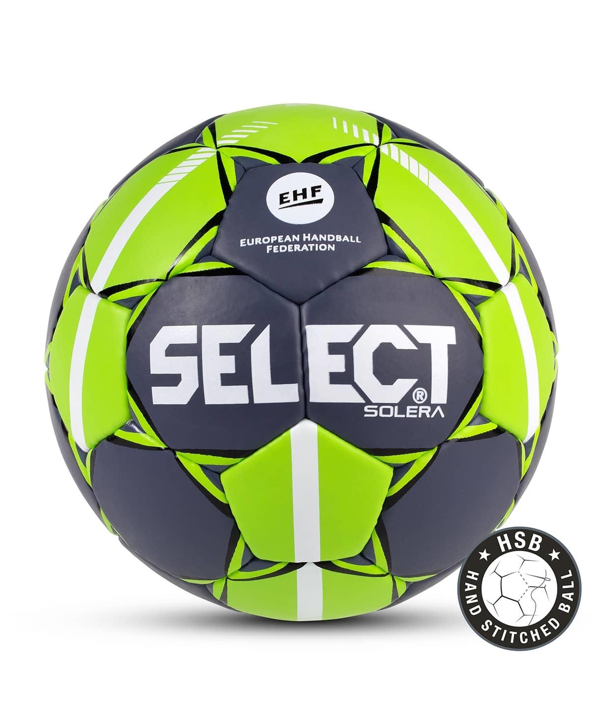 Мяч гандбольный SOLERA IHF №2, сер/лайм