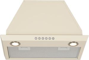 Вытяжка Elikor Врезной блок 52П-1000-Э4Д крем  ВСТР, не работают 2 лампы