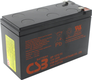 Аккумулятор CSB GP-1270F2/Yuasa NP7-12/GP1272F2  (12V,7.0Ah) для UPS