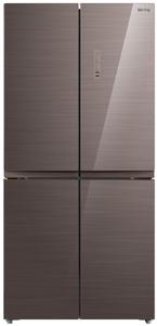 Холодильник Korting KNFM 81787 GM коричневый