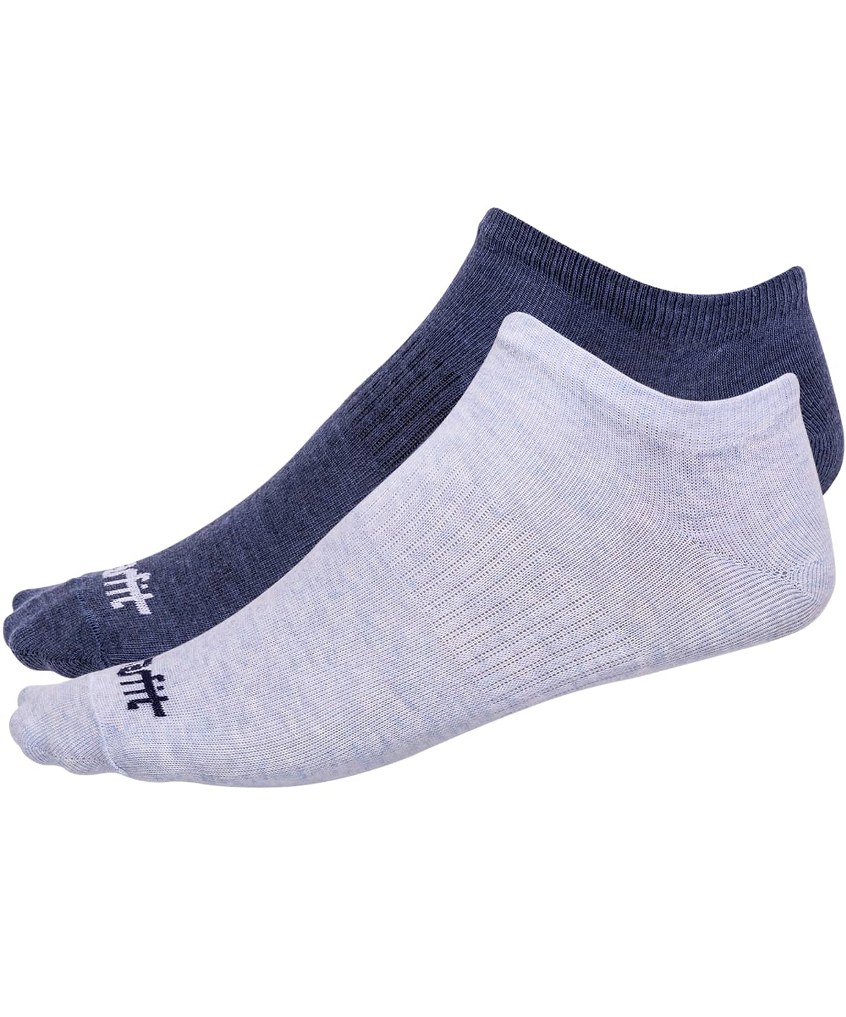 Носки низкие SW-205, голубой меланж/синий меланж, 2 пары