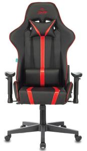 Кресло игровое Бюрократ VIKING ZOMBIE A4 красный