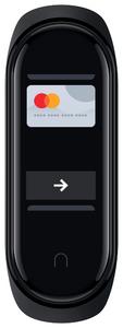 Фитнес-браслет Xiaomi Mi Smart Band 4 NFC черный