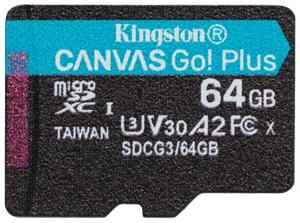 Карта памяти Kingston SDCG3/64GBSP 64 Гб