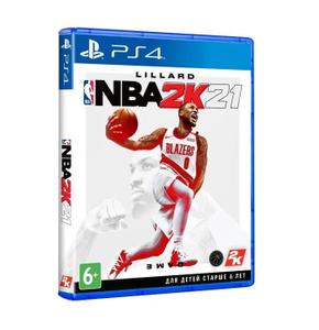 Игра на PS4 NBA 2K21 [PS4, английская версия]
