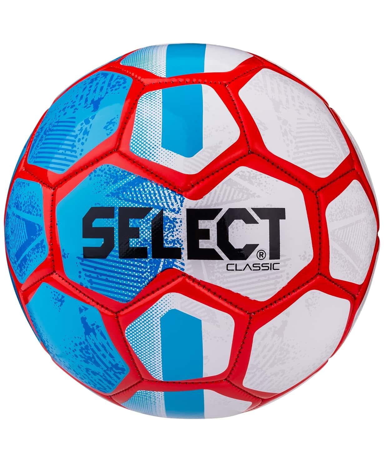 Мяч футбольный Classic №5 синий/белый/красный