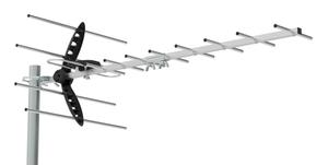 Антенна телевизионная Hyundai H-TAE260 17дБ пассивная серебристый
