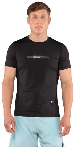 Мужская футболка Eminent black FA-MT-0201-BLK, черный