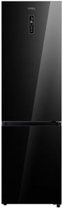Холодильник Korting KNFC 62029 GN черный