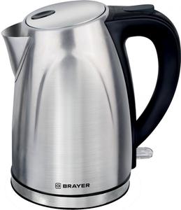Чайник электрический BRAYER 1041BR серебристый