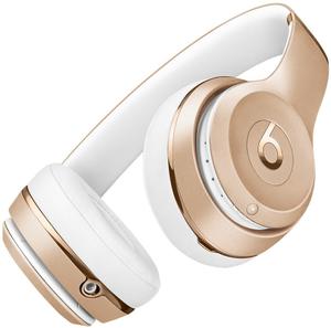 Bluetooth-наушники с микрофоном Beats Solo 3 золотистый
