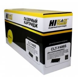 Картридж Hi-Black CLT-Y406S Yellow