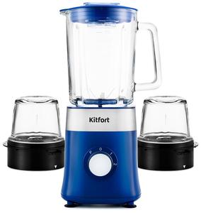 Блендер стационарный Kitfort KT-3030-3 синий