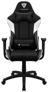 Кресло игровое ThunderX3 EC3 Black-White AIR белый