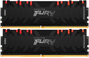 Оперативная память Kingston FURY RenegadeRGB [KF432C16RBAK2/64] 64 Гб DDR4