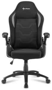 Кресло игровое Sharkoon Elbrus 1 серый