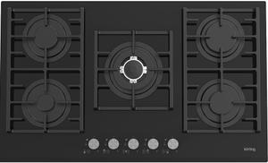 Газовая варочная панель Korting HGG 9835 CTN черный