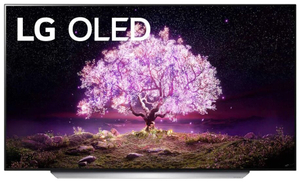"Телевизор LG OLED65C1RLA 65"" (165 см) серебристый"