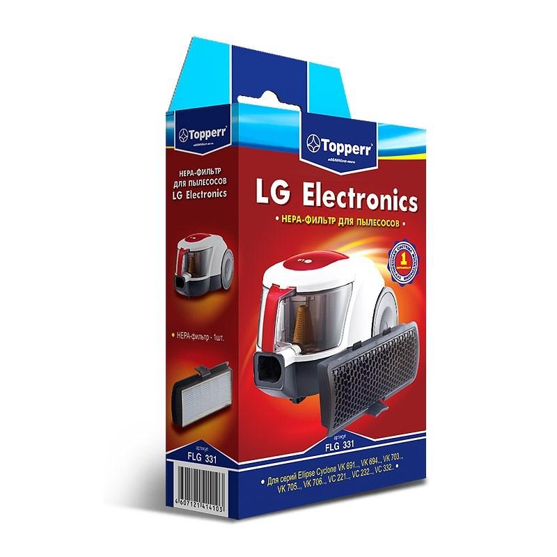 1149 FLG 331 Topperr HEPA-фильтр д/пыл LG VC221.., 232.., 332..,VK691..,694.., 703..,705.., 706..