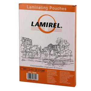 Пленка для ламинирования  Lamirel,  А4, 100мкм, 100 шт.