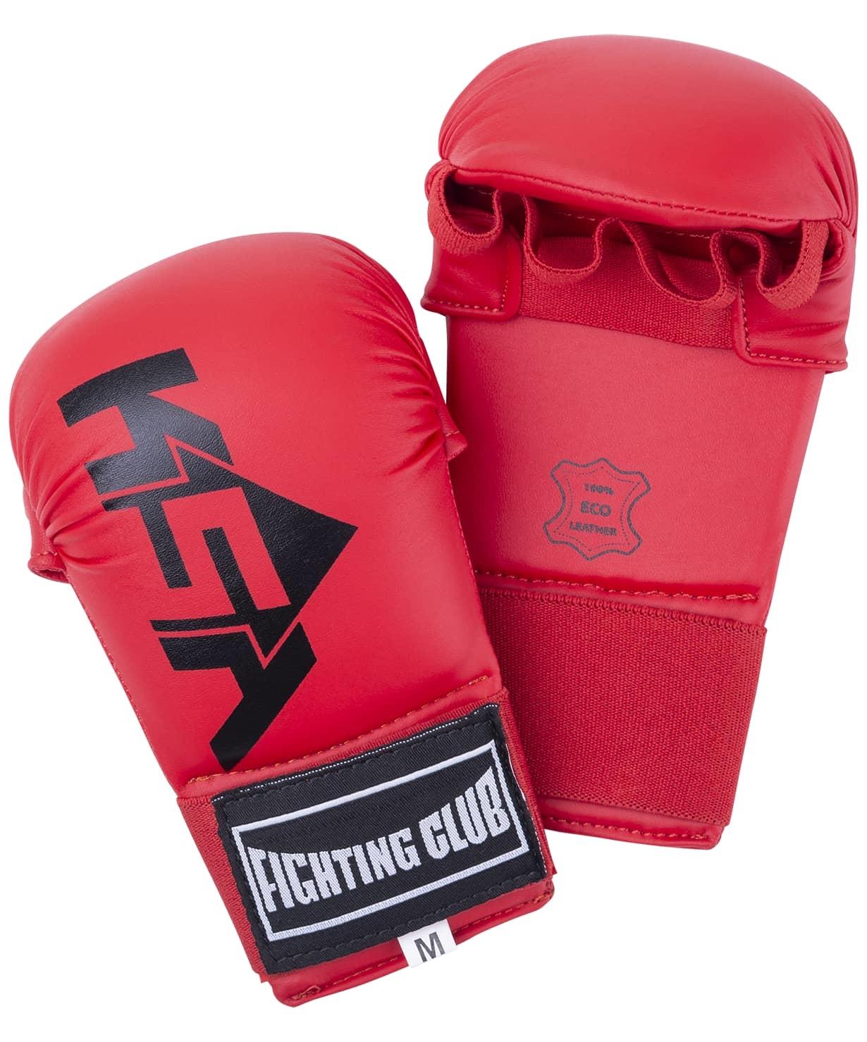 Накладки для карате Slam Red, к/з