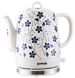 Чайник электрический Gorenje K10C белый