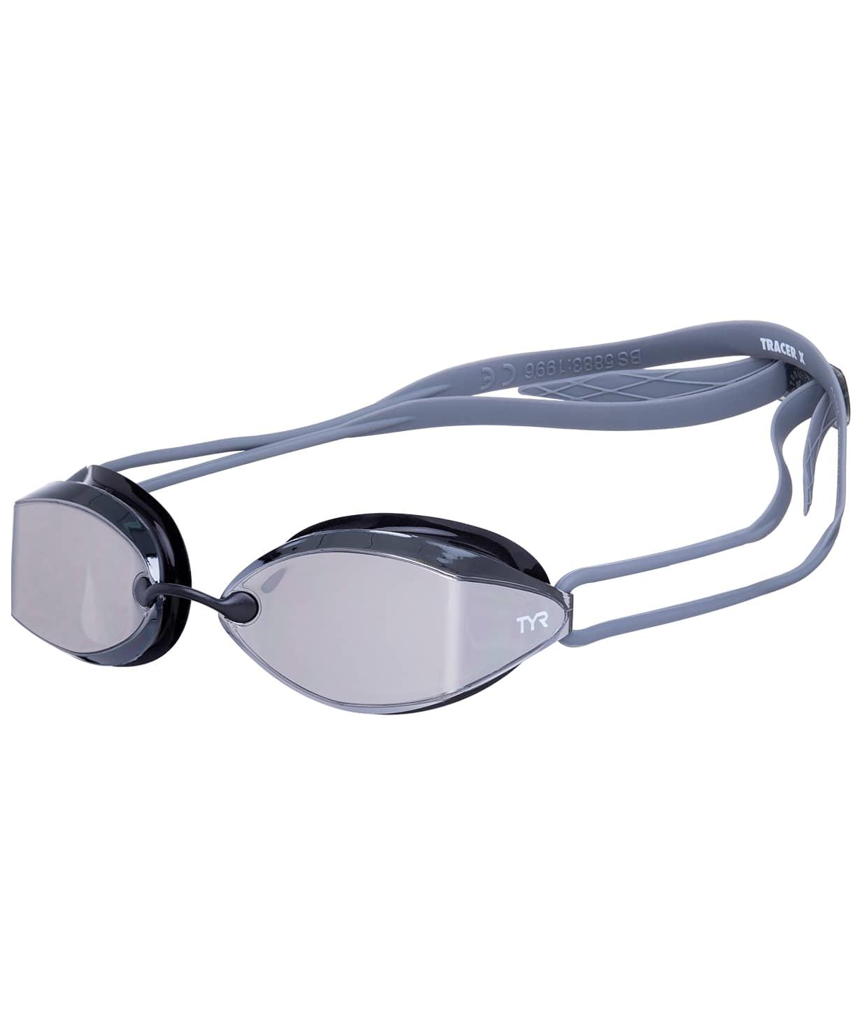 Очки Tracer-X Racing Mirrored,  LGTRXM/043, черный