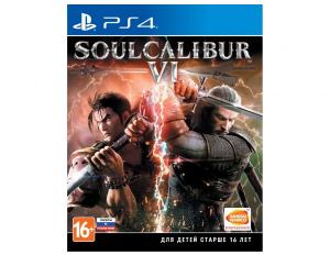 Игра на PS4 SoulCalibur VI [PS4, русские субтитры]