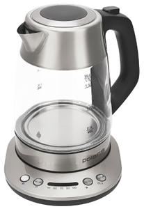 Чайник электрический Polaris PWK 1775CGLD серебристый