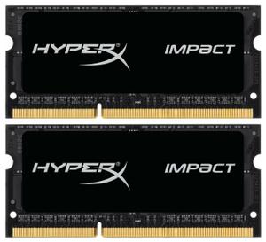 Оперативная память HyperX Impact [HX318LS11IBK2/8] 8 Гб DDR3